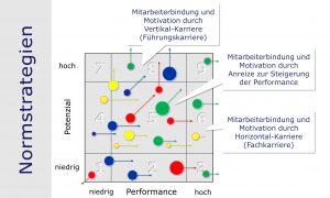 HR-Portfolio: Normstrategien zur Mitarbeiterbindung und Mitarbeitermotivation