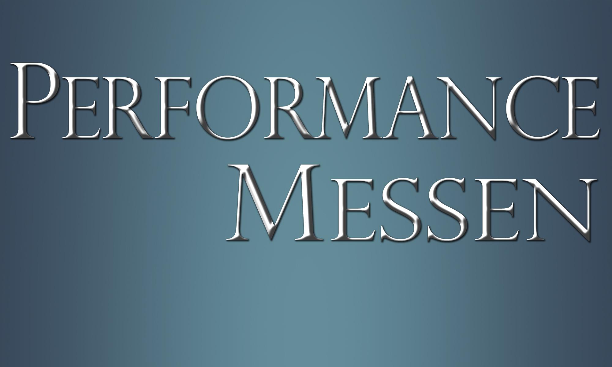 Performance messen